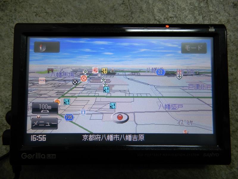 『psi』 サンヨー ゴリラ ライト NV-LB55DT ワンセグ対応 ポータブルナビ_画像1