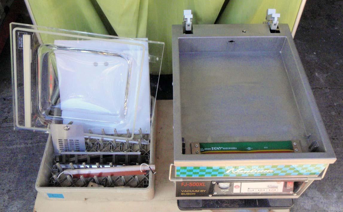 ◆デモ機レベルの極上品!なんつね卓上型真空包装機 FJ-500XL 使用極僅か!◆_画像8