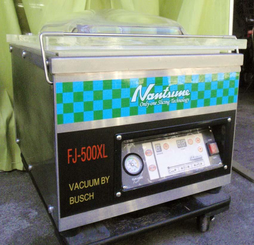 ◆デモ機レベルの極上品!なんつね卓上型真空包装機 FJ-500XL 使用極僅か!◆