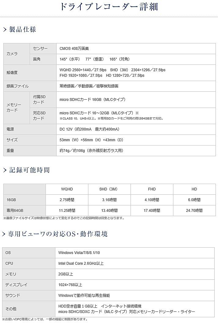 【M's】W217 Sクラスクーペ/W222 Sクラス(2013y-)純正品 ドライブレコーダー(※ 赤外線反射ガラス車専用)/ベンツ AMG 正規 M2228293010MM_画像4