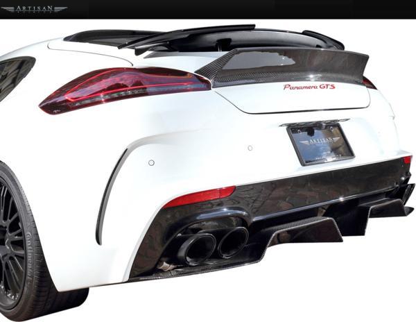 【M's】Porsche 970 パナメーラ 後期 13y- ARTISAN リアバンパー_画像2