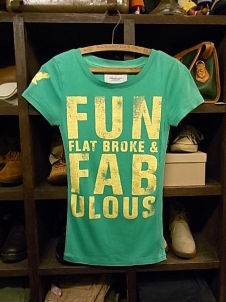 アメリカンイーグル 半袖 Tシャツ SIZE XS 緑 AMERICAN EAGLE_画像1