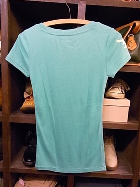 アメリカンイーグル 半袖 Tシャツ SIZE XS 緑 AMERICAN EAGLE_画像2
