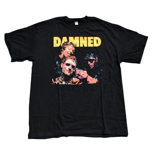 The Damned ダムド Damned Damned Tシャツ S