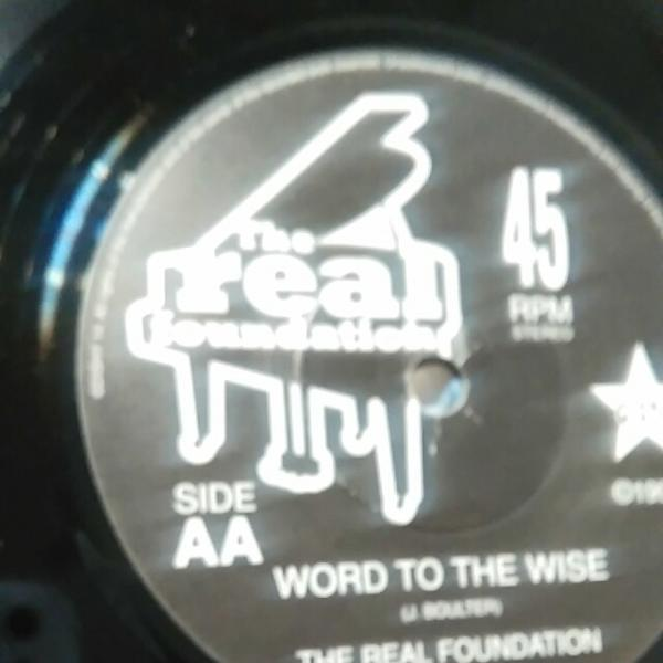 REAL FOUNDATION/AFTERTHOUGHT EP Mod名曲 ネオアコ Paul Weller_画像2