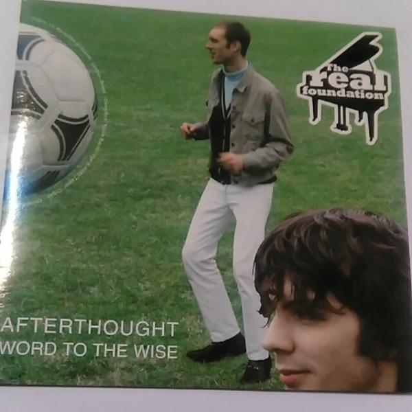 REAL FOUNDATION/AFTERTHOUGHT EP Mod名曲 ネオアコ Paul Weller_画像1