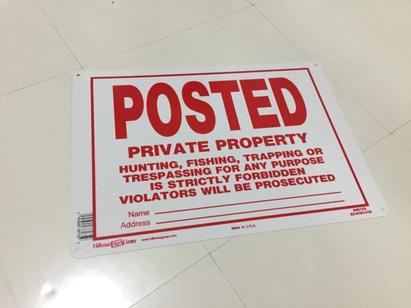アメリカ看板世田谷ベースガレージアメ車北米VWホットロッドUSDM立ち入り禁止サインJDMアメリカン雑貨アイランドワーニング監視カメラ_画像1