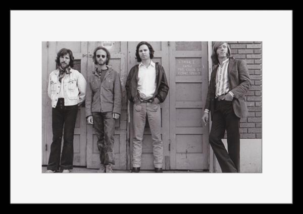 BW:人気ロックバンド!ドアーズ/The Doors/モノクロ写真フレーム-5