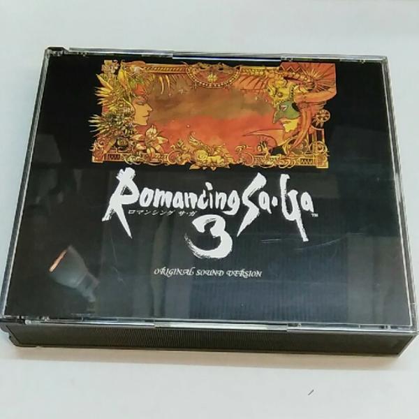 *即決* ロマンシング サ・ガ 3 Romancing Sa・Ga 3 CD 3枚組_画像1