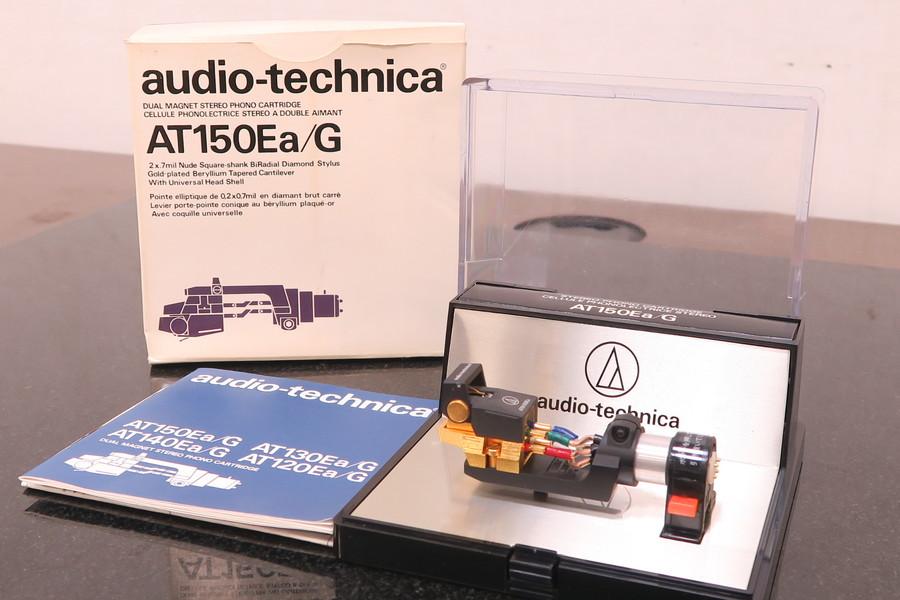 audio-technica AT-150Ea/G オーディオテクニカ VM型カートリジ 元箱付き REWIRE INC#R01