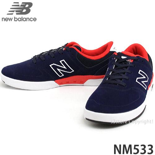 交渉可 NEWBALANCE NM533 ABR(Aviator Blue) 26.5cm ニューバランス ヌメリック533 スケシュー スニーカー シューズ 靴 スケートボード