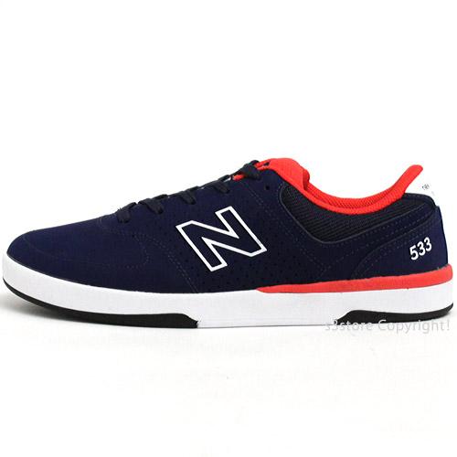 交渉可 NEWBALANCE NM533 ABR(Aviator Blue) 26.5cm ニューバランス ヌメリック533 スケシュー スニーカー シューズ 靴 スケートボード_画像2