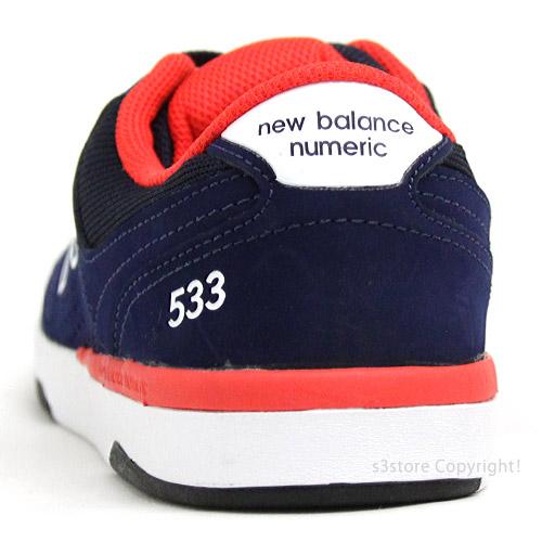 交渉可 NEWBALANCE NM533 ABR(Aviator Blue) 26.5cm ニューバランス ヌメリック533 スケシュー スニーカー シューズ 靴 スケートボード_画像5