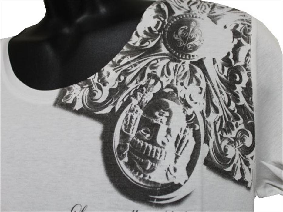デスピエール DES PIERRE メンズ半袖Tシャツ 80019 ホワイト Mサイズ 新品_画像2