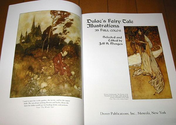 洋書画集 デュラックのおとぎ話イラストレーション/ Dulac's Fairy Tale Illustrations In Full Color(輸入品_画像2