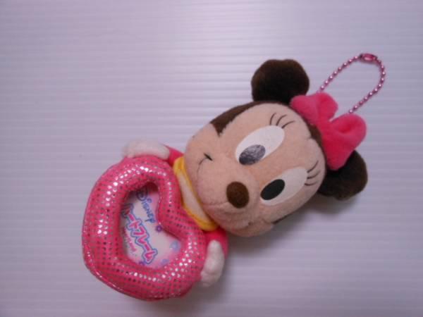 【フォトフレーム付ぬいぐるみ】 ★ ディズニー ★ ミニーマウス