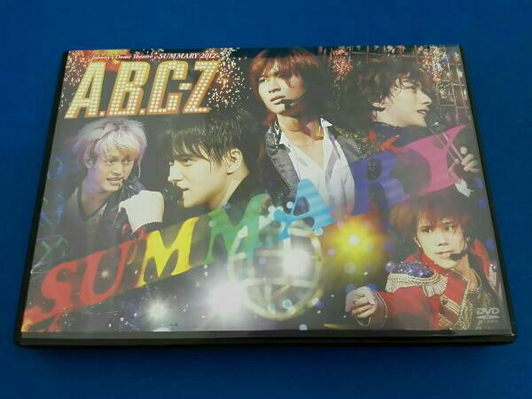 「A.B.C-Z」Johnny's Dome Theatre~SUMMARY 2012~A.B.C-Z コンサートグッズの画像