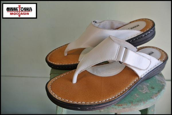 EJ*MINNE TONKA/ミネトンカ*レザーサンダルシューズ/革靴_画像1