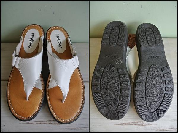 EJ*MINNE TONKA/ミネトンカ*レザーサンダルシューズ/革靴_画像2