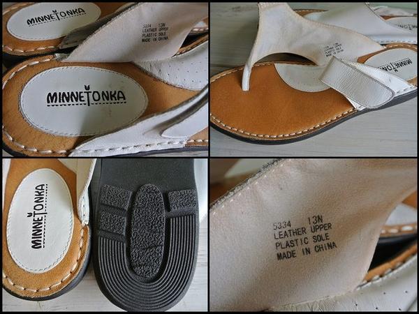 EJ*MINNE TONKA/ミネトンカ*レザーサンダルシューズ/革靴_画像4