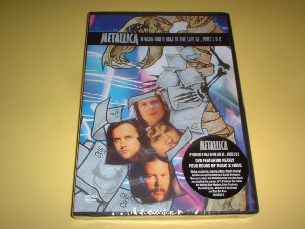 メタリカ Metallica/Year & a Half...Part 1 & 2(R1)[US輸入DVD] ライブグッズの画像