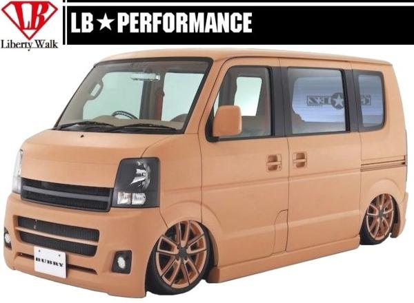 【M's】 エブリイ バン DA64V エアロ リア バンパー GO☆EZ LB Liberty Walk_画像9