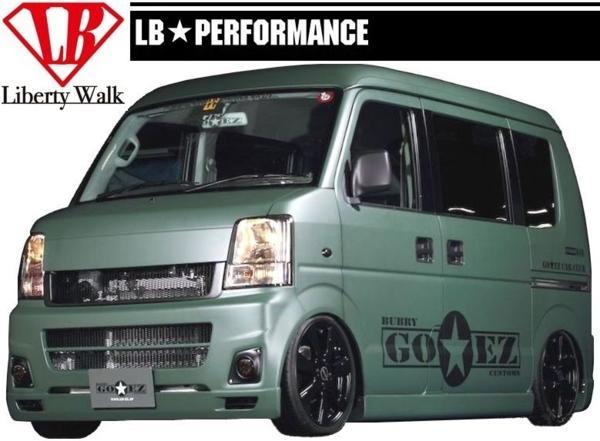 【M's】 エブリイ バン DA64V エアロ リア バンパー GO☆EZ LB Liberty Walk_画像2
