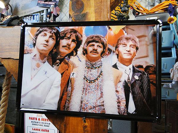 【137839】ビートルズのブリキポスター(ビートルズ1) ライブグッズの画像