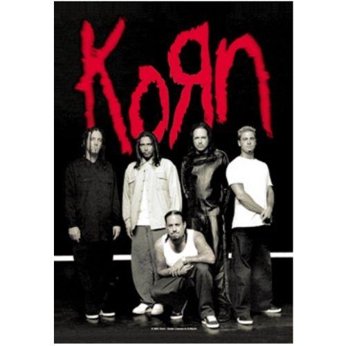 海外限定 公式 Korn コーン 特大布ポスター G115