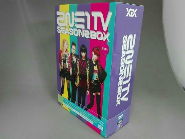 2NE1 TV SEASON2 BOX 初回限定 三方背 BOX仕様 帯付き ライブグッズの画像