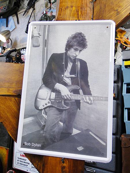 【136832】ボブディランのブリキポスター/Bob Dylan