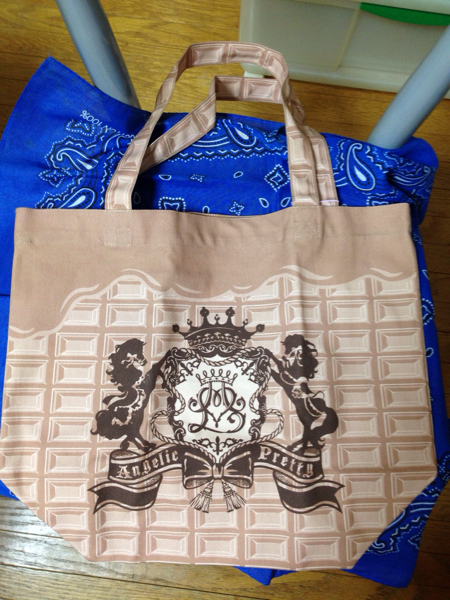 Angelic Pretty Malty Royal Chocolate トートバッグ モカ_画像1