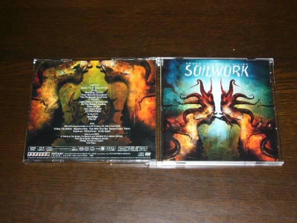 国内盤 CD+DVD 初回限定スリーブケース SOILWORK /SWORN TO A GREAT DIVIDE