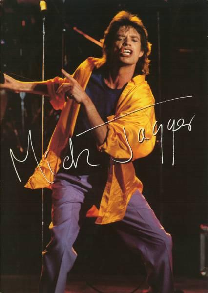 送料無料!ミックジャガー/Mick Jagger in Japan 日本公演パンフ