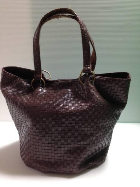 【特価品!】●マグネットホック●ハンドバッグ 茶色