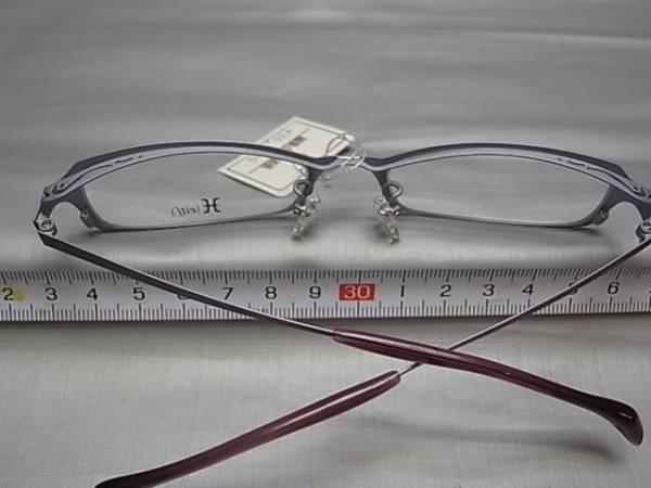 37□-4/めがね メガネ眼鏡 フレーム 日本製 ハマモトH_画像3
