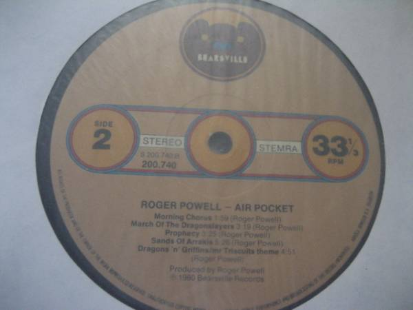 ○Roger Powell/Air Pocket○FORCE OF NATUREネタ!_画像2