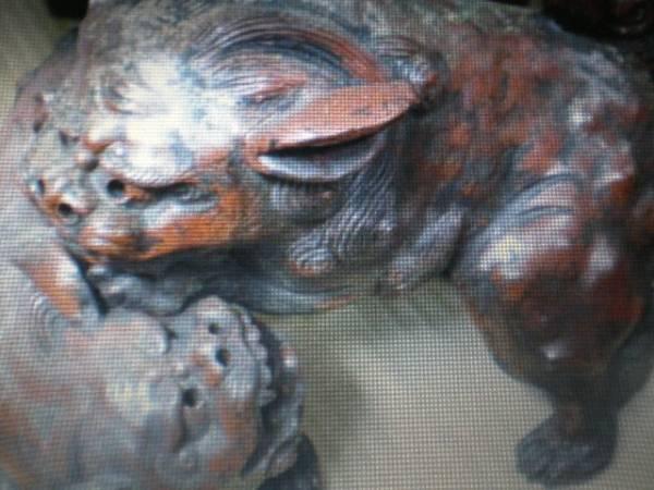 桃山時代作品貴重品からみ獅子珍品_画像1