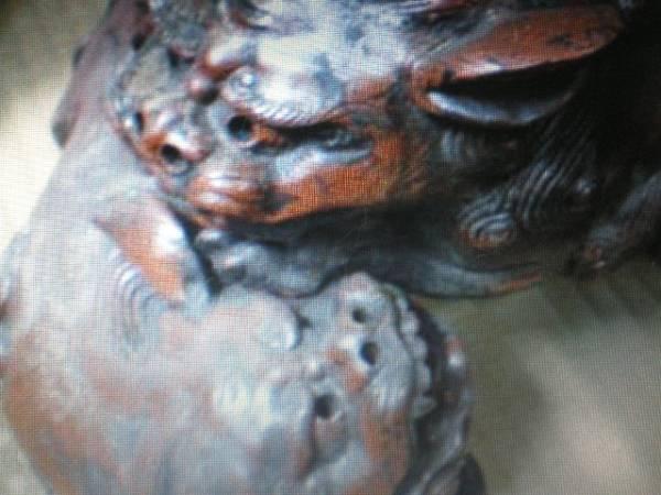 桃山時代作品貴重品からみ獅子珍品_画像2