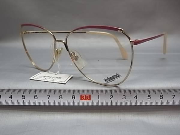 61□-1/めがね メガネ眼鏡 フレーム 日本製 ロウデンストック_画像2