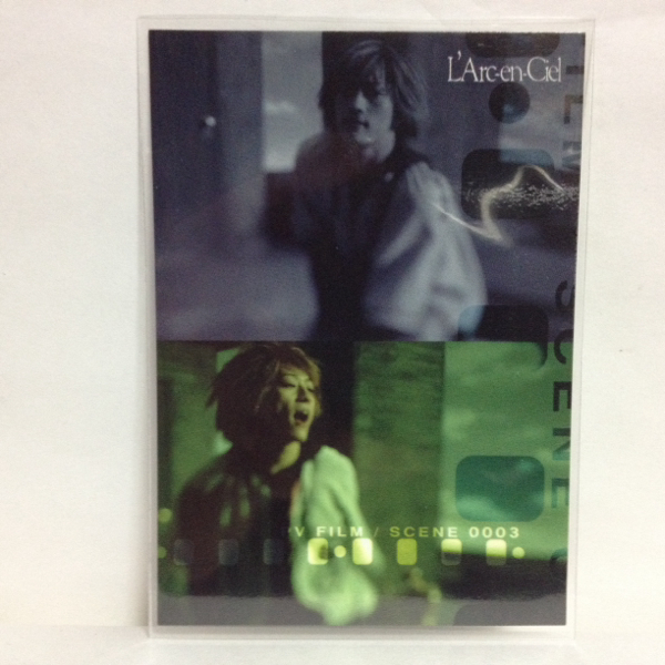L'Arc~en~Ciel TRADING CARD PERFECT COLLECTION 再販 No.39