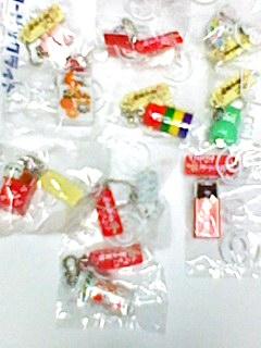 にゃんにゃんにゃんこ 駄菓子屋にゃんこ ボールチェーン 全10種 グッズの画像