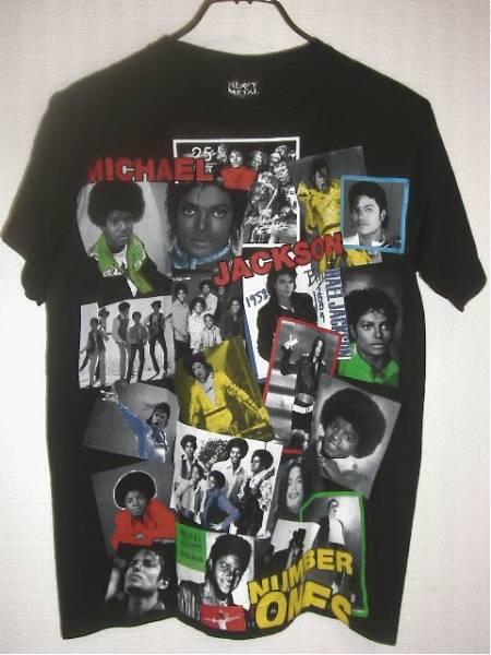 MICHAEL JACKSON マイケルジャクソン Tシャツ ラバープリント 黒 ライブグッズの画像