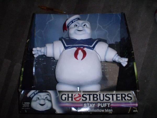 レア ゴーストバスターズ 特大 マシュマロマン ソフビ フィギュア 映画 人形 ホラー モンスター ghostbusters ビンテージ 海外 figure doll_画像1