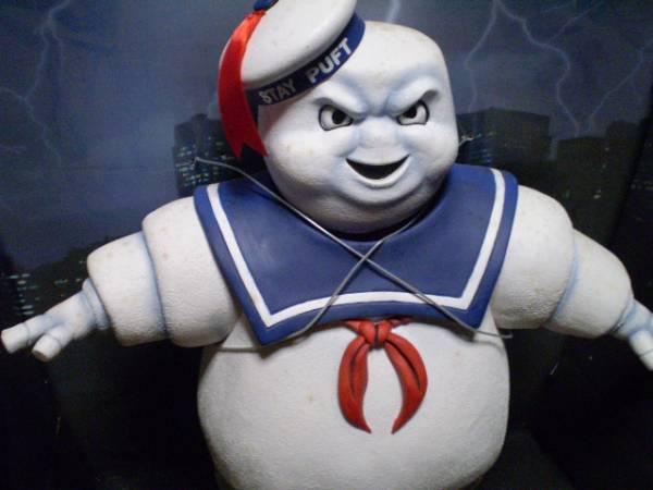 レア ゴーストバスターズ 特大 マシュマロマン ソフビ フィギュア 映画 人形 ホラー モンスター ghostbusters ビンテージ 海外 figure doll_画像3