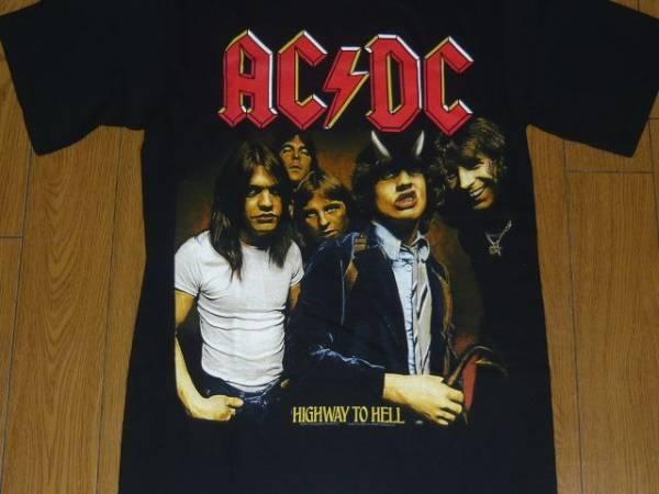 ACDCエーシーディシーAC/DC HIGHWAY TOHELシャツ ロックtヒロト