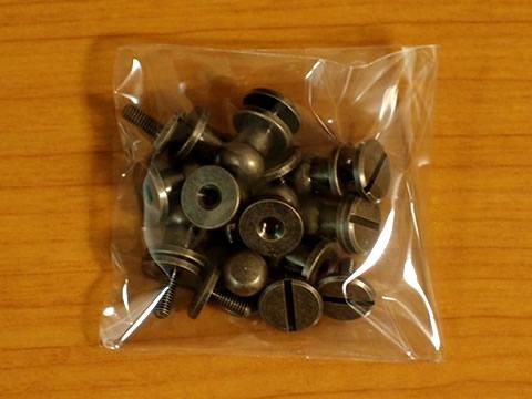 ギボシ(ネジ式)大 アンティークゴールド 10個セット 10mm 日本製_画像3
