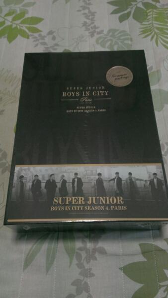 ★SuperJunior★BOYS IN CITY Paris★未開封 ライブグッズの画像