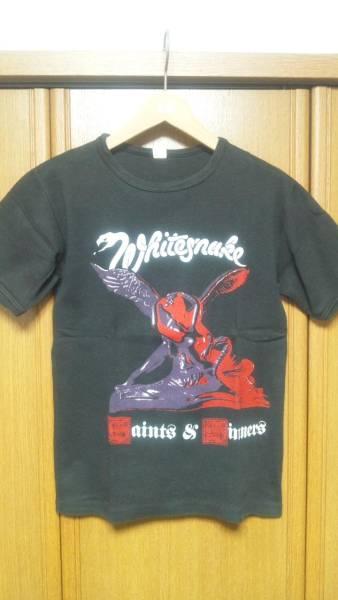82年Whitesnake UKツアーTシャツ ホワイトスネイクkiss guns