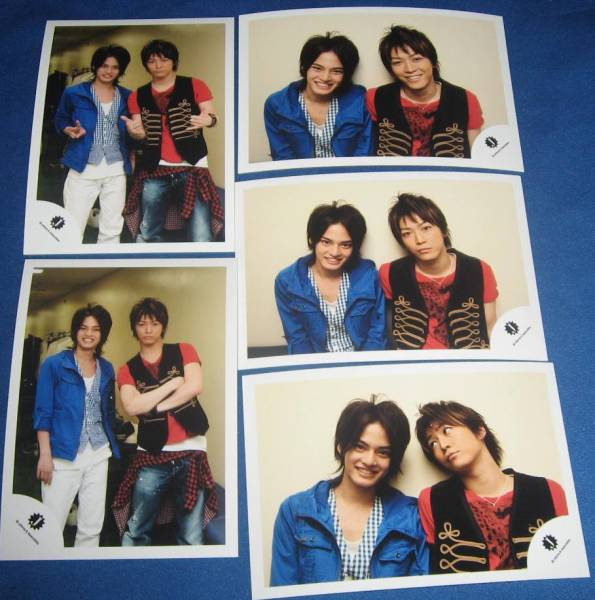 中山優馬  亀梨和也 2010/4発売 ショップ 写真 5 枚